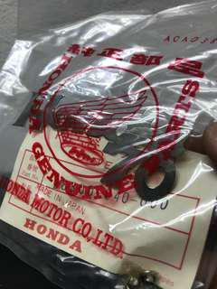 Vintage Honda 70 tank emblem