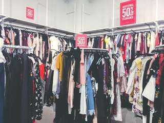 H&M divided dresses ✨