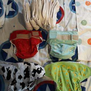 Moomoo cloth diaper and insert