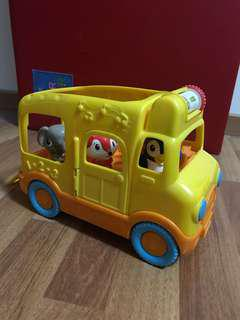 Leap frog school bus