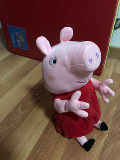 Peppa Pig Soft Toy battery operated
