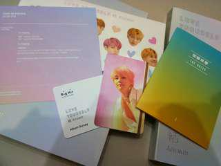 Bts love yourself answer 'E' (already stock)