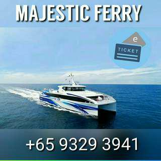 Batam Majestic Ferry Ticket