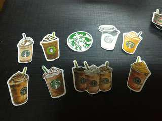 💥Starbucks stickers (limited edition)