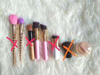 Makeup brush/kuas makeup