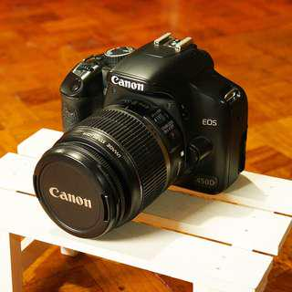 Canon EOS 450D | Kitlens | No video recording