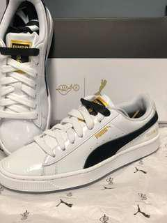 [BRAND NEW] PUMA x BTS Basket Patent Sneakers [LIMITED EDITION]