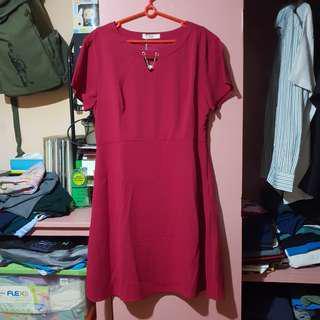 Sakaya Red Dress
