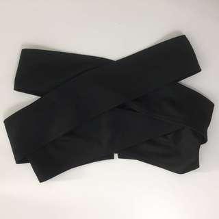 Fashion Black Tube Top