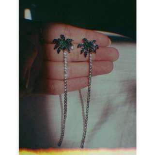 (可贈)STYLENANDA 夏日椰子樹單支耳環