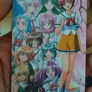 日本電話卡 Komami 心跳回憶 2  Ivancheung