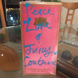 Peace & Love & Juicy Couture Eau De Parfum EDP 100ml 3.4oz Women perfume fragrance 女士香水