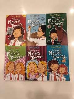 Enid Blyton Malory Tower (6 books set)