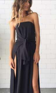 Kitx front slit dress