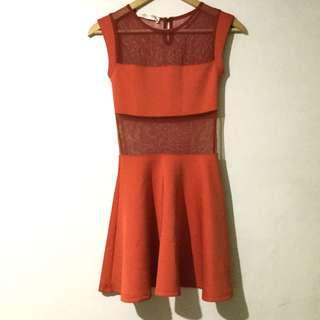 Apartment 8 Orange Dress