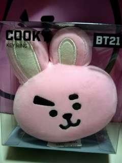 BT21 Cooky Keyring