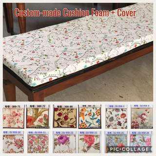 ✂️ Custom-made Foam + Cover