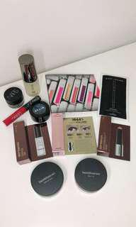 Lot of makeup minis & deluxe samples