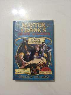 Maater crooks crime academy story book
