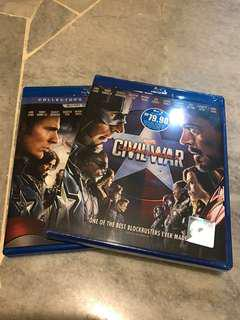 Civil War ( Blue Ray new in seal) Wrongly bought twice