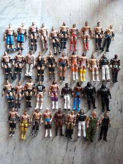 WWE Used Basic Figures $7 each