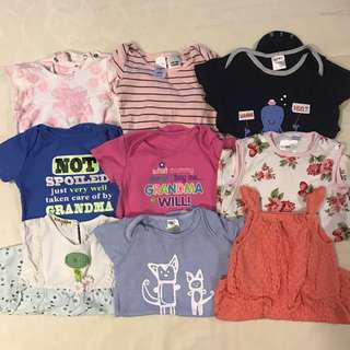 35sets Baby Girl Clothes 3 - 12m