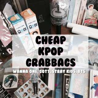 CHEAP KPOP GRABBAGS FOR SALE 💌