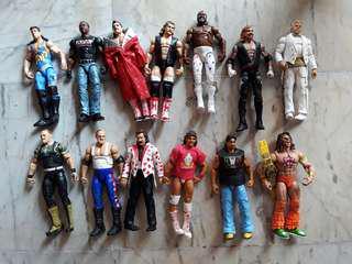 WWE Used Elite Figures