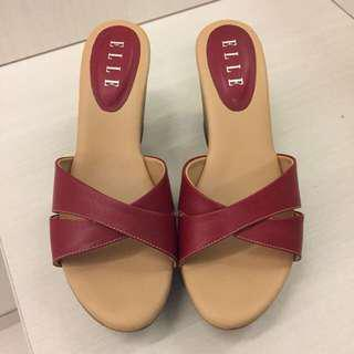 ELLE WEDGES SANDALS(baca deskripsi)