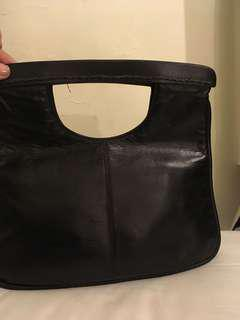 Vintage MIMCO black clutch