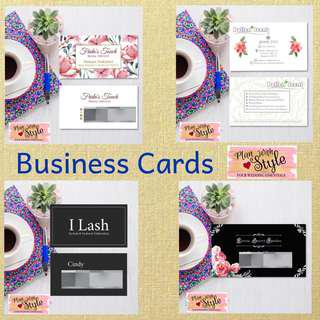 Customised Namecards