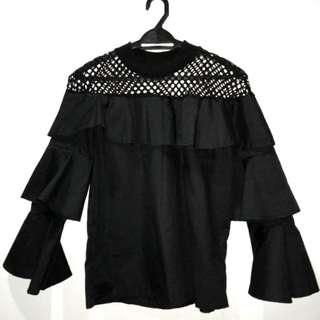 Gothic mesh top