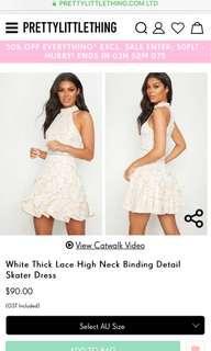 ✨  PLT Lace Skater Dress