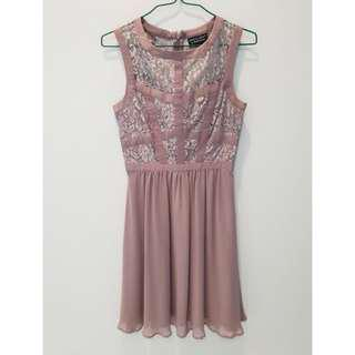 Spotlighg By Warehouse old rose Dress