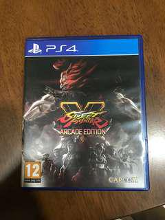 PS4 Street Fighter Arcade Edition