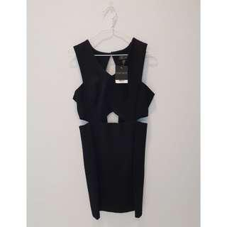 Topshop Cut-out Bodycon Dress brandnew with tags