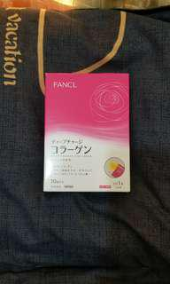 FANCL膠原蛋白啫喱果凍 Deep charge collagen stick jelly