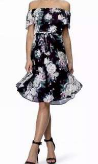 Ladies ALL ABOUT ROSE by Dorothy Perkins Floral Dress.  Size 10 UK  NWT - RRP $89