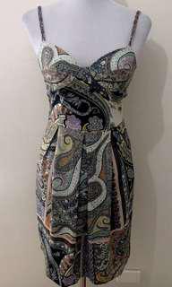 Ladies ETRO MILANO Designer Dress.  Size 42 IT (approx 8 AUS.
