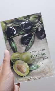 Nature Republic Sheet Mask Olive