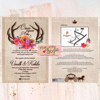 WC27 ~ Wedding Card