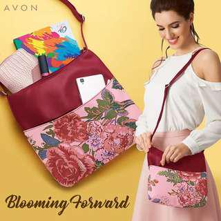 We know the hassle of carrying a bag that can't handle it all. That problem is solved with this real deal: the Shae Multipocket Sling Bag. It's roomy and easy-to-bring!  Make sure to grab this P199 #Avonpremium  purchase from the September 1-15, 2018