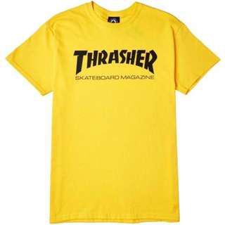 Rare thrasher yellow tee
