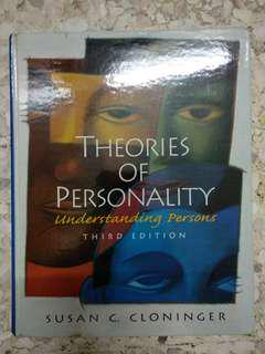 Susan C Cloninger - Theories of Personality: Understanding Persons #midsep50