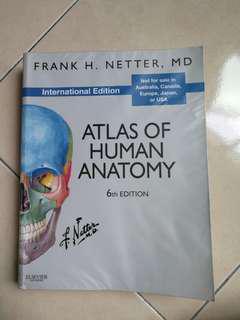 Netter's Atlas of Anatomy