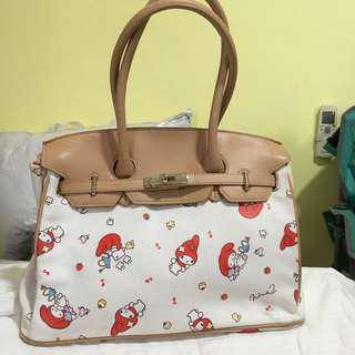 Sanrio My Melody birkin like bag handbag