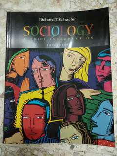 Richard T Schaefer - Sociology: A Brief Introduction