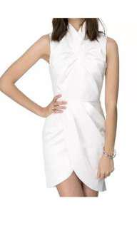 Ladies CAMEO Collective New Noise Dress Ivory Size Large  NWT RRP $169.95