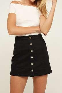 Pare Basic Shelby Skirt - Black