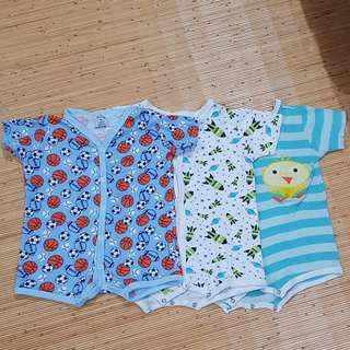 Take All 3 pcs Romper 6-9 Month Baby Boy